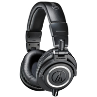 Audio Technica ATH-M50x Black Studio Monitor Headphones