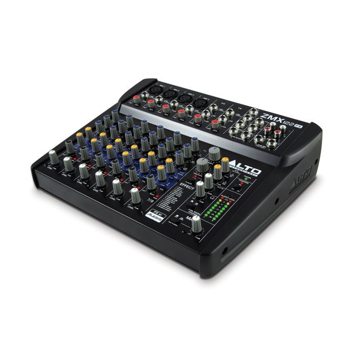 Alto ZMX122FX 8ch compact mixer with effects