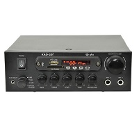 QTX KAD-2BT Compact Digital Stereo Amp w. Bluetooth 110w