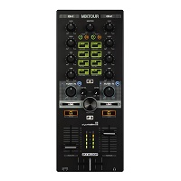 Reloop MixTour 2 channel Hybrid mixer/controller
