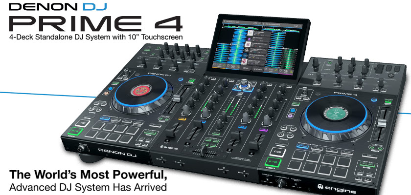 Denon DJ Prime 4 All-In-One
