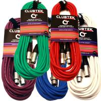Coloured XLR 10m Stage Pack