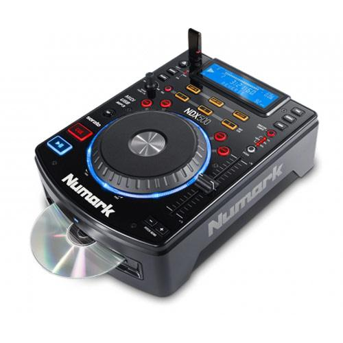 CD & USB Stick Not Included - Numark NDX500 CD Player