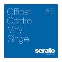 "Serato 12"" Control Vinyl - Performance Series - BLUE (SINGLE)"