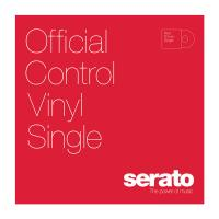 "Serato 12"" Control Vinyl - Performance Series - RED (SINGLE)"