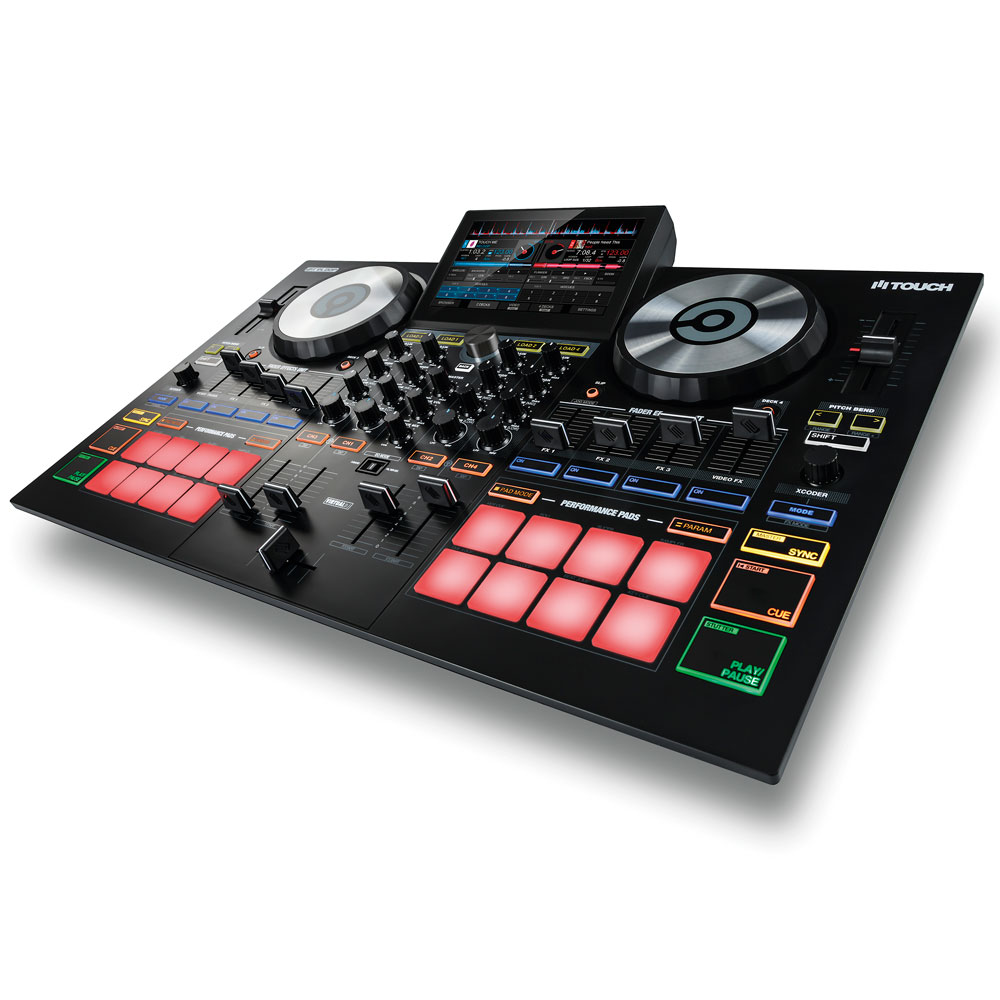 "Reloop Touch: 7"" Full-Colour Touchscreen Performance Controller"