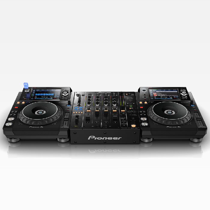 Potential set-up. Second player and mixer not included. - Pioneer XDJ-1000 MK2 USB/Midi Player
