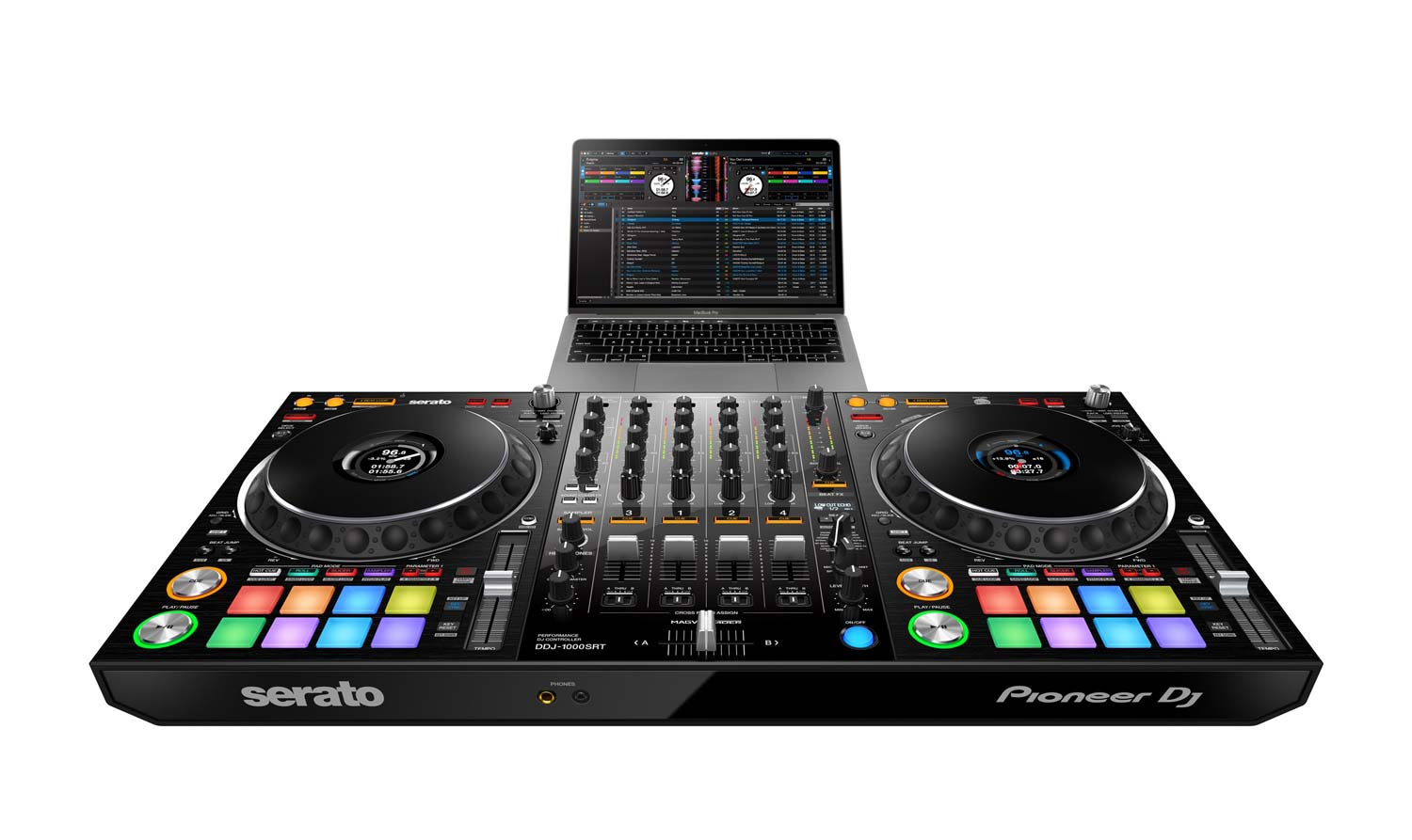 laptop not included - Pioneer DDJ-1000SRT Serato Controller 4ch