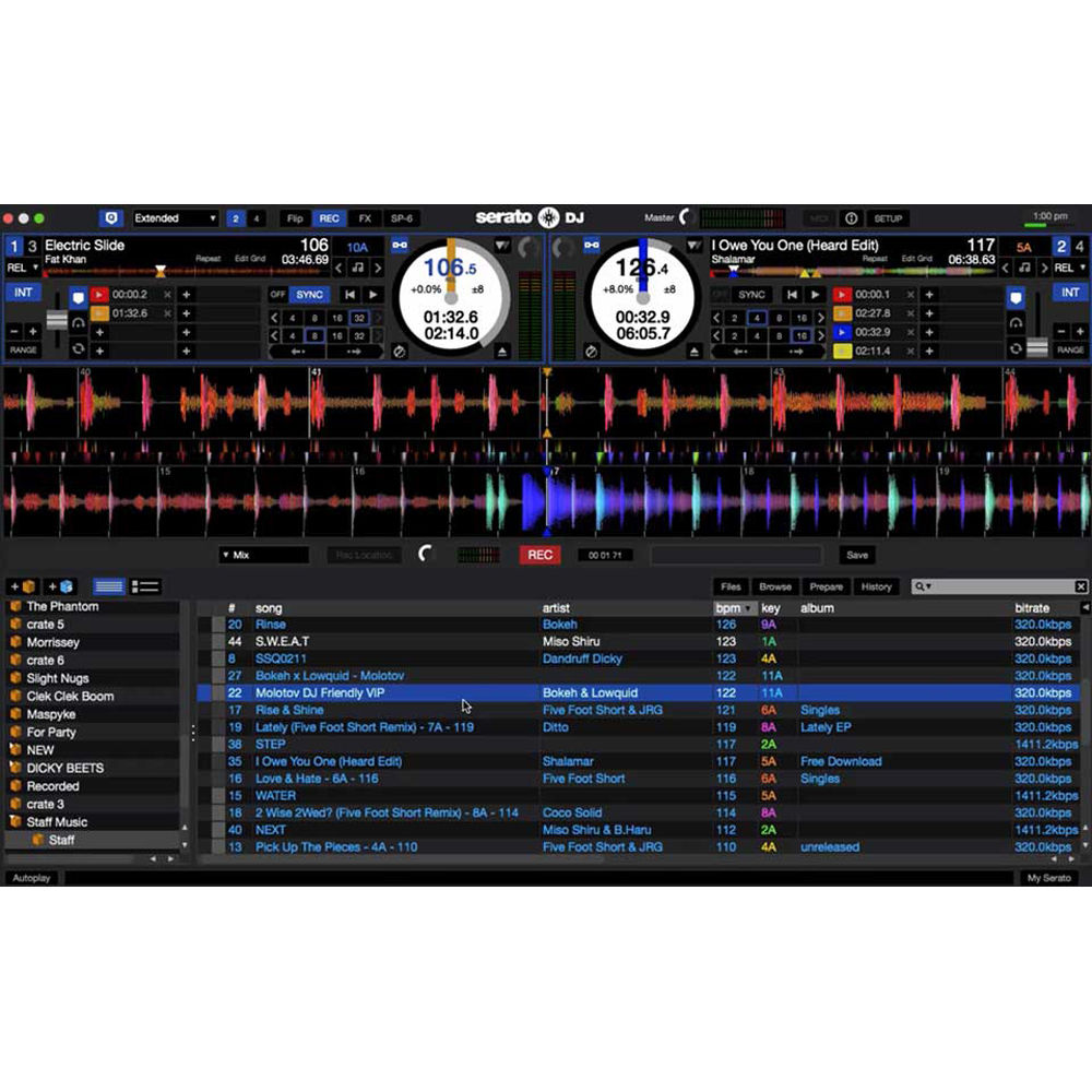serato dj full version key