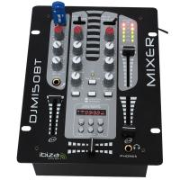 Ibiza Sound DJM150USB 2-Channel Mixer USB BT