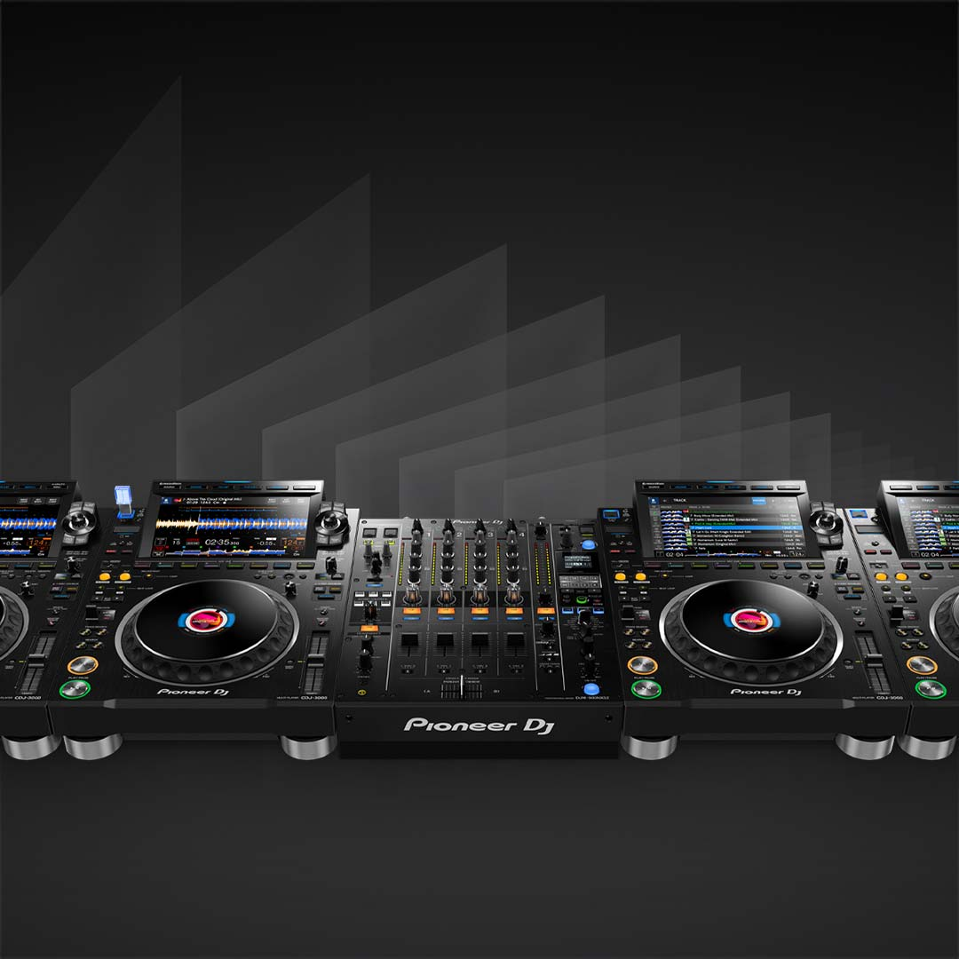 serving suggestion - Pioneer CDJ3000 Professional DJ Multiplayer