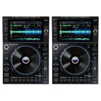 Pair of Denon DJ SC6000 PRIME Media Players