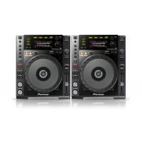 Pioneer CDJ850K CD Players - Pair