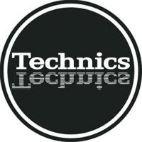 Technics Slipmat - Mirror Logo