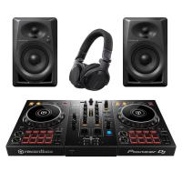 Pioneer DDJ-400 Controller + DM-40 speakers + HDJ-CUE Headphones