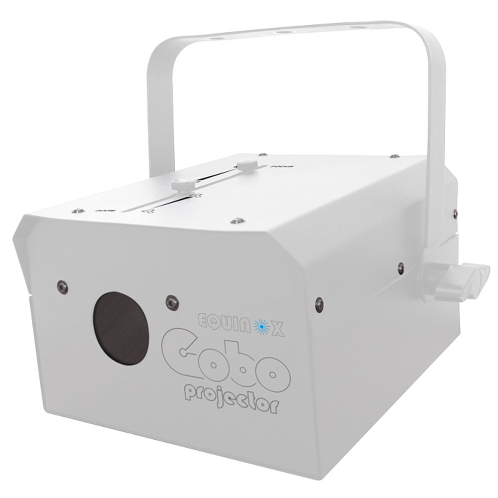 Equinox Gobo Projector (White Housing)