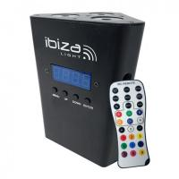 Ibiza Truss Light Battery RGBW black