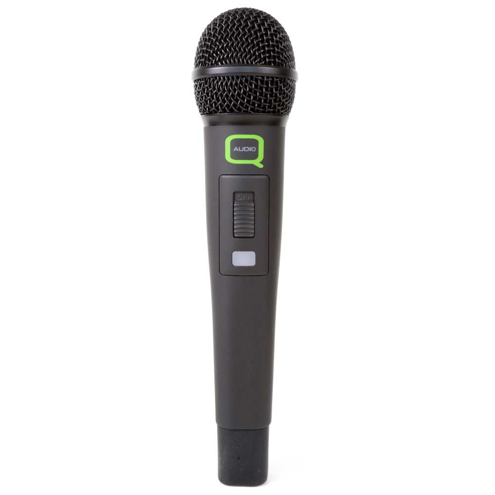 Q-Audio QWM 1932 Twin Handheld Microphone Fixed Frequency