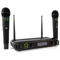 Wireless microphone Q-Audio QWM1932 V2 HH 863.5/865 Twin