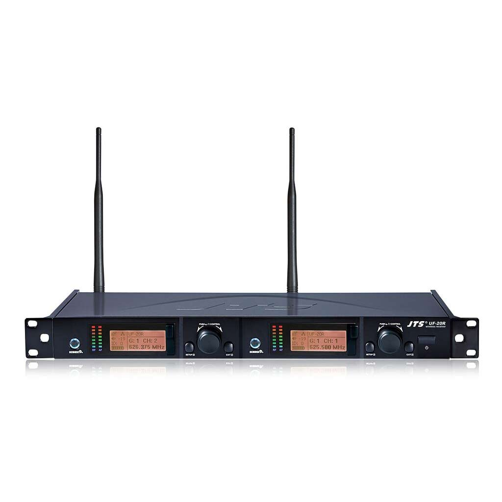 JTS UF-20R Dual Channel Wireless Receiver