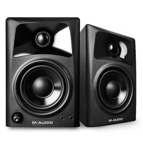 AV42 Pair of Desktop Speakers for Professional Media Creation