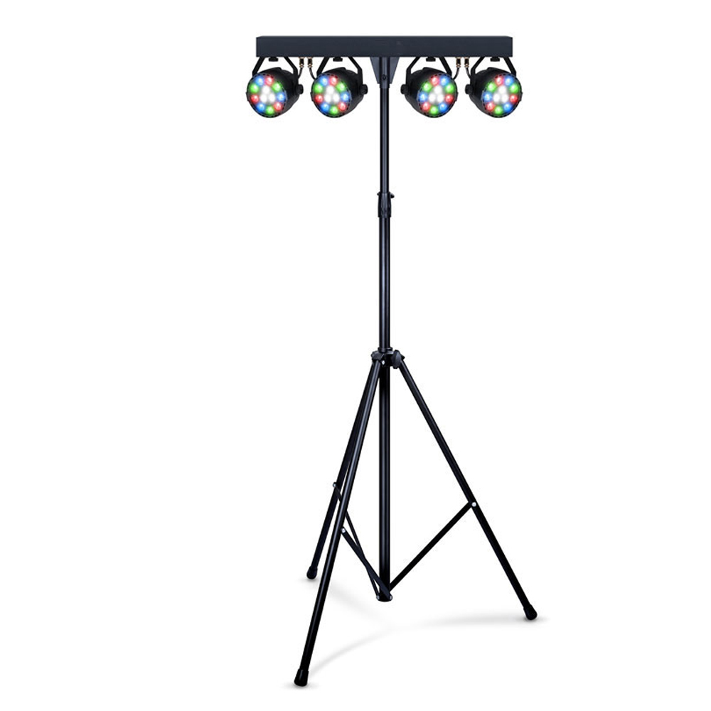 Ibiza Light Bar package DJLight80LED 4x pars w/remote