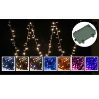 100 Solar powered multi-coloured fairy lights