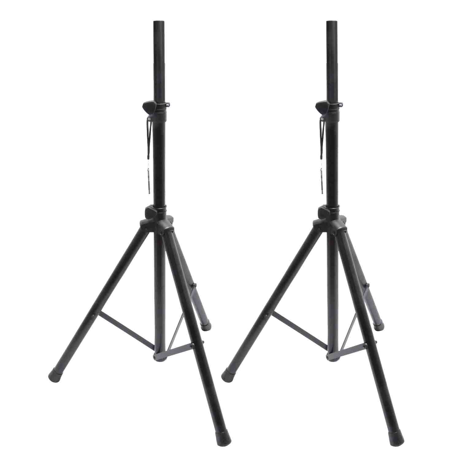 Speaker Stand Kit Metal 2 + Bag TEK audio Plastic collar