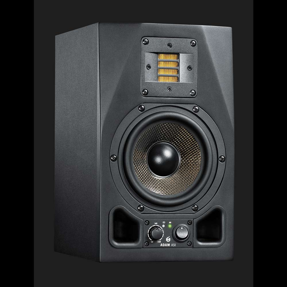 "Adam A5X active 5"" studio monitor 100w RMS"
