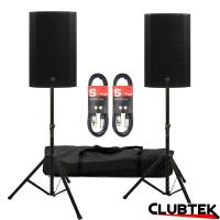 PAIR of Mackie Thump 12A 1300W + free Cables and Stand