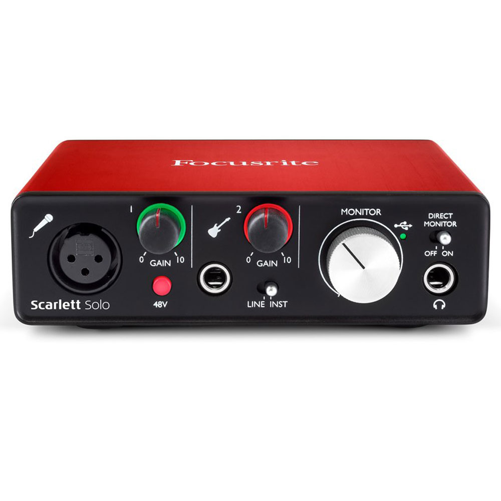 Focusrite Scarlett Solo (2nd Gen) Audio Interface