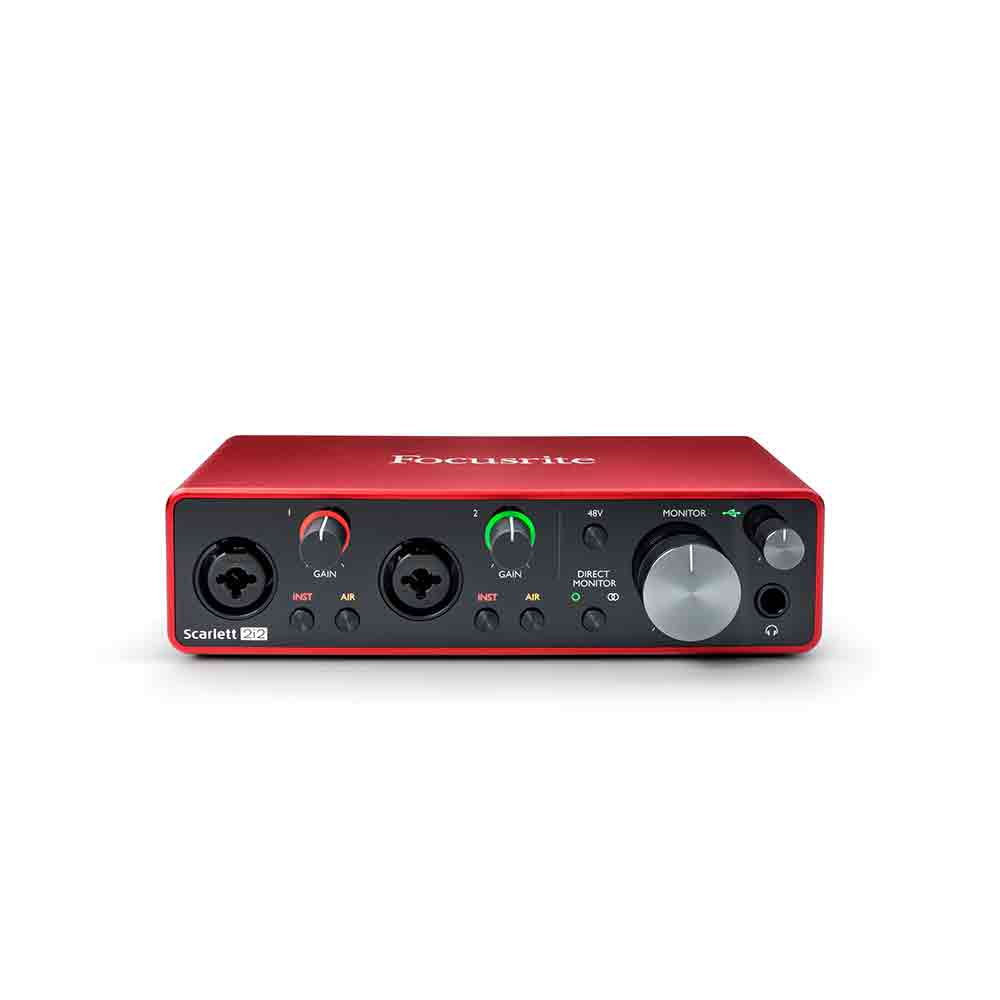 Focusrite Scarlett 2i2 (3rd Gen) Audio Interface