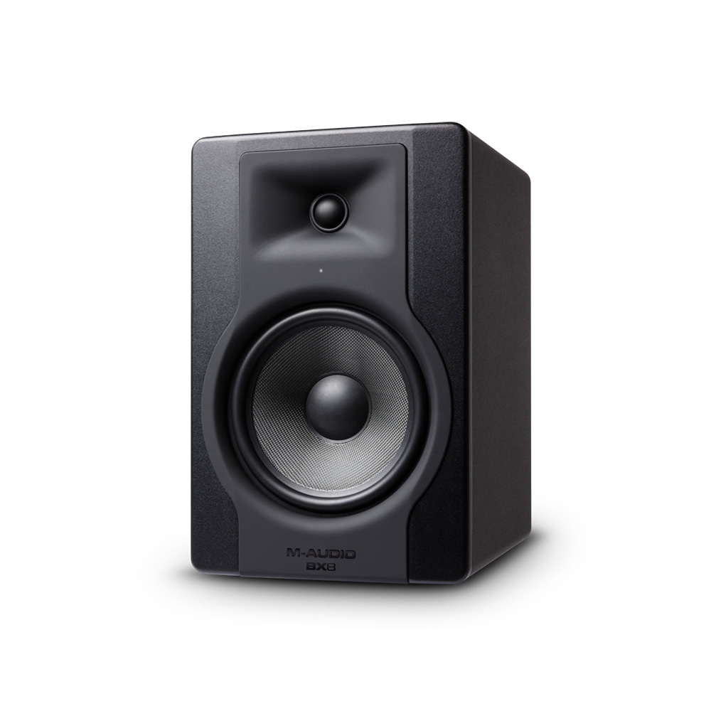 M-Audio BX8 D3 130W Bi-Amplified Studio Monitor Speaker (Single)