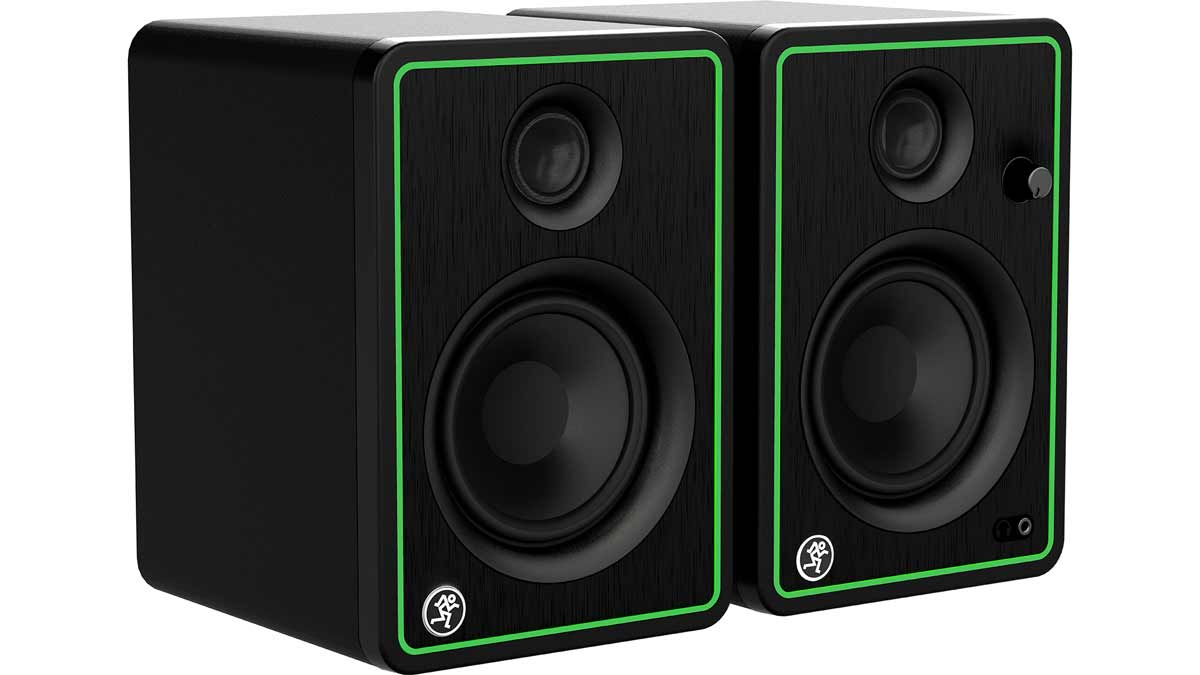 "Mackie CR4-X Pair 4"" Active Studio Monitor Speakers"