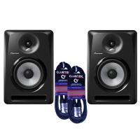 "Pioneer 6"" S-DJ60X Studio Monitors - Pair with cables"