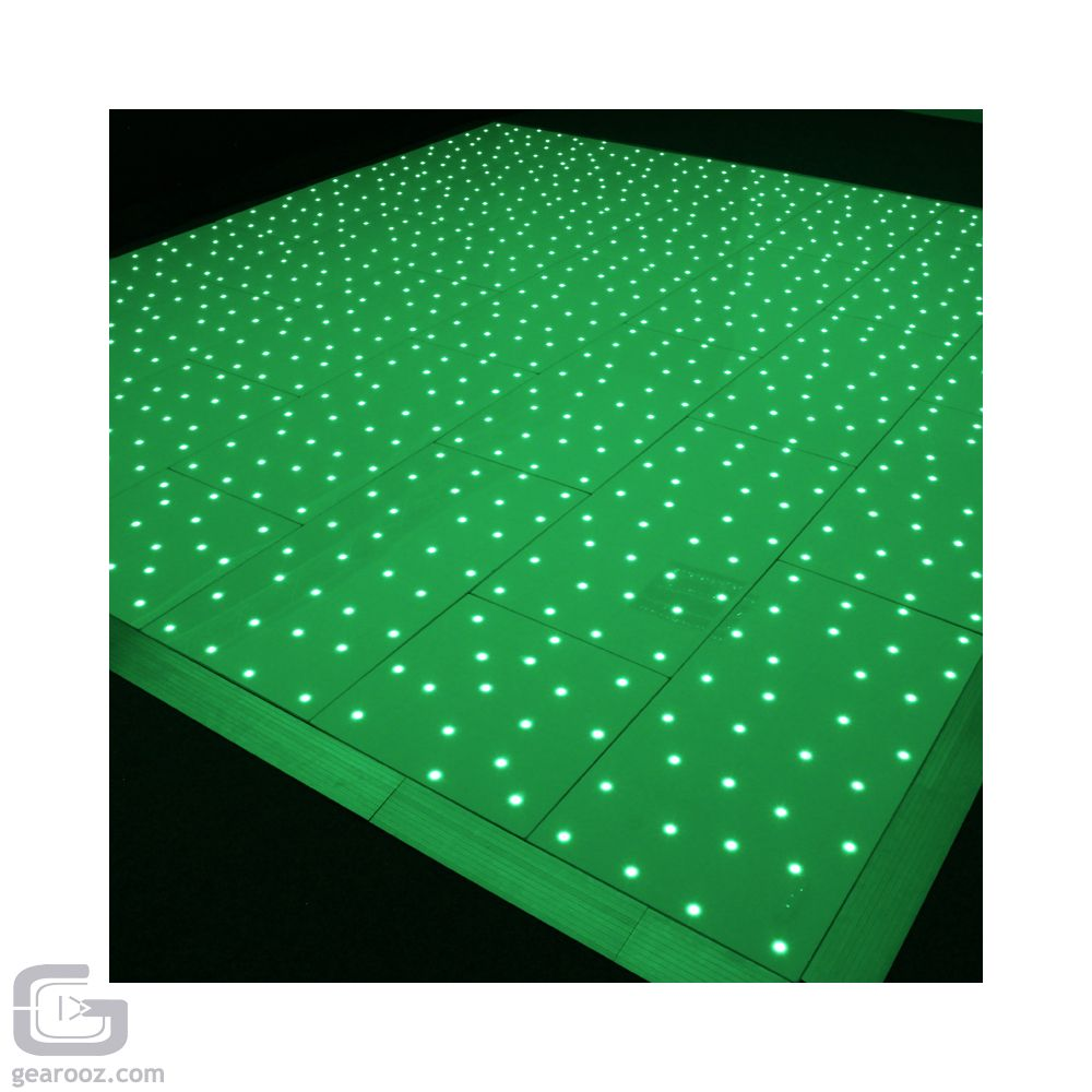 LEDJ Black RGB Starlit Dance Floor system 14ft x 14ft